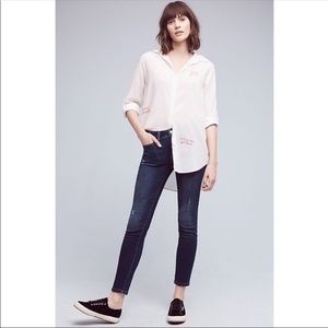 Pilcro and the letterpress stet crop jeans 27